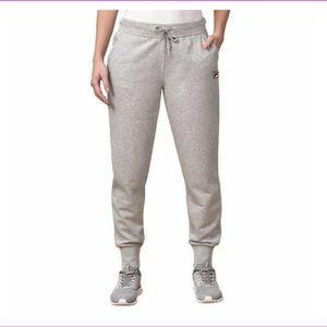 FILA Women's French Terry Jogger Grey Sweatpants